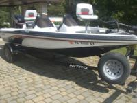 2003 Nitro 750NX bass boat with 2003 Trailstar trailer
