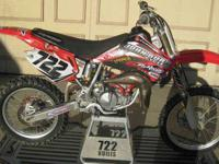 2007 HONDA CR85 SUPERMINI CR 85 THIS IS A HONDA BIG