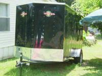 The trailer was used once when it was purchased in