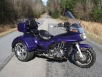 UP FOR SALE IS THIS 1985 HONDA GOLDWING GL1200