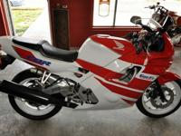 1991 Honda CBR600f2 that is in great shape for her age,