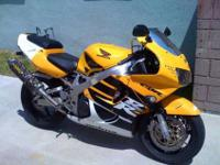 For Sale is a 1999 Honda CBR 900RR. It is in excellent