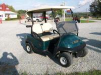 2007 Club Car Precedent Gas Golf Cart, Kawasaki four