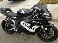2007 Honda CBR 1000RR sport bike. It is in excellect