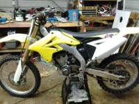 For sale i have a 2008 Suzuki RMZ 250. I bought the
