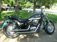 1998 Vulcan 800 Classic. 20,500 miles and counting. New