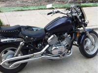 Honda magna with only 3,000 miles. got it just a few