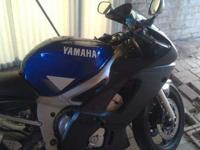 Alright I have a 2000 Yamaha R6 for sale or trade. I am
