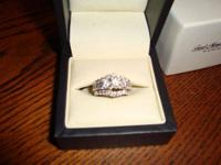 2.75 TCW (31) Round Brilliant Diamond Wedding Ring New