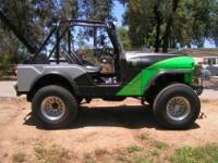 1977 Jeep CJ5, 258 6 cyclinder engine with three speed