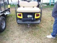 I have a 2001 Ez Go four seater golf cart. I went