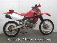 2001 Honda XR650RThis Honda is basically an Off Road