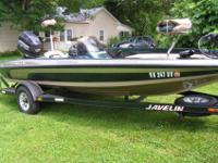 I have for sale a 2001 Javelin (renegade) bass boat