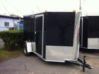 6x10. Plus V. Side door, rear ramp door. GVW 2990.