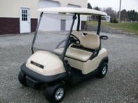 2008 Club Car Precedent Gas Golf Cart, Kawasaki Gas