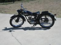 This bike is in excellent condition. The Model 125 was