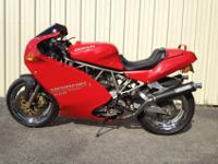 Very well maintained 1995 Ducati SP 900SS. Very low