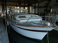 1964 CHRIS * CRAFT CONSTELLATION 37' YACHT.THIS CHRIS