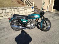 This is a 1969 Triumph Trident in original