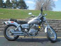2008 HONDA REBEL, Silver Metallic,
