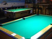 2 Valley Cougar pool tables in great condition. Fully