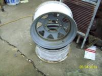 Have 2--6 lug spoke wheels left from my 66  $40 for the