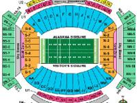 2-8 Alabama vs Western Carolina football tickets Lower