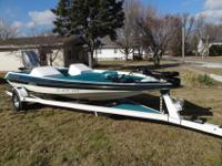 1995 Meritec gambler bass boat. I don't have the time
