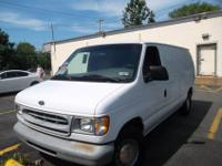 Great running work van and is a local new ford trade in