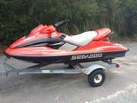 This is a 3 seater PWC made by Sea-Doo. Its is the GTX