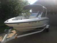 2003 Bayliner 175 Runabout for auction. Comes complete