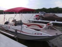 2005 Tracker - Sun Tracker, Fishin' deck 21' deck boat