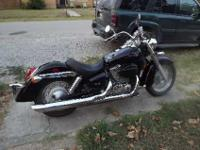 2007 honda shadow 750 aero. black. 10,000 miles. has