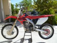 I have a 2008 Honda CRF 450R, bought it brand new