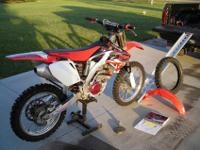 2005 CRF250R. I and the second owner however first