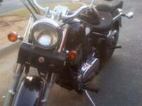 I ve got 1999 vulcan 800 fat boy, Chrome pipes in