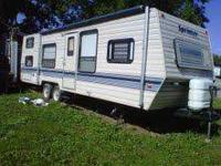 This is a 1989 camper it sleeps 8 to ten people has a
