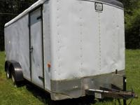 For sale by Owner 2005-7x16 enclosed trailer good