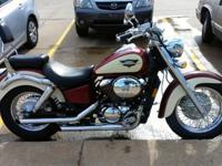 1998 750 Honda Shadow ACE Deluxe, About 16,500 miles,