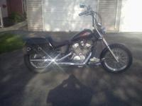 I have for sale a 2007 Honda Shadow 600 with 14,xxx