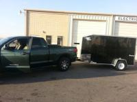 Up for sale i have a 2013 element cargo trailer made by