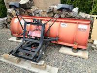 For sale is a Western Steel Pro-Plow Snow Plow. 7' 6""