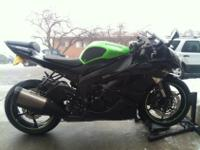 2009 Kawasaki ZX6R. The engine is young with very low