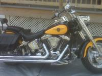 2000 Harley Davidson Fat Boy soft tail, 1449 cc, air