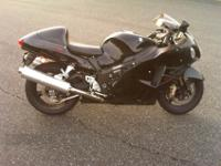 2007 Suzuki GSXR1300 Hayabusa, 13,500 miles. If you are