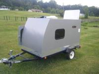 Brand New 2011 Custom Built 4' x 8' Teardrop Camper