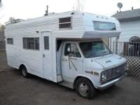 1977 GMC Mitchell RV, 24 ft, Class C, 80,000 original