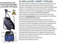 Fully remanufactured Stairmaster 7000PT. Price includes