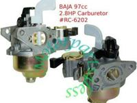 2.8HP Carburetor for Baja Doodle Bug Mini Bike 97cc