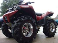 2010 Kawasaki Brute Force 750 with only 68 hours on it.